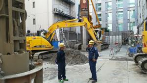 第一建設機工株式会社 建設重機 バックホゥ オペレーター募集 兵庫県西宮市